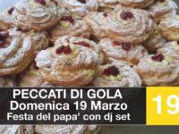 """Sassano: musica e dolci prelibatezze per la Festa del Papà da """"Peccati di Gola"""""""