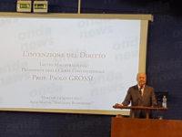 Il Presidente della Corte Costituzionale Paolo Grossi visita l'Università degli Studi di Salerno