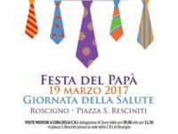 Roscigno: il 19 marzo visite mediche della Croce Rossa Italiana per la Festa del Papà