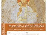 """Padula: il 26 marzo in Certosa l'incontro """"Per una Chiesa capace di speranza"""""""
