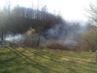 Vasto incendio a Casalbuono in località Palazzuolo. Paura per abitazioni e fabbricati
