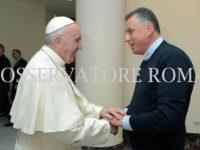 Don Vincenzo Federico incontra a Roma Papa Francesco per i 25 anni di sacerdozio