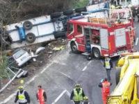 Tir travolge operai sulla A10 in Liguria. Perde la vita 53enne di Sala Consilina