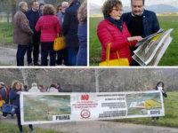 Vicenda biometano a Sant'Arsenio. Sopralluogo del Presidente Legambiente Campania Michele Buonomo