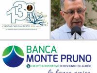 """Banca Monte Pruno, apertura filiale a Padula. Soddisfazione dal Circolo Sociale """"Carlo Alberto"""""""