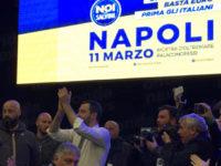 """Visita di Matteo Salvini a Napoli. Presente anche il gruppo """"Noi con Salvini – Vallo di Diano"""""""