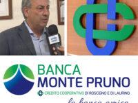 """Banca Monte Pruno. Il sindaco Paolo Imparato a Michele Albanese:""""Benvenuti a Padula"""""""