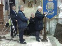L'Arcivescovo Luigi Moretti a Caggiano per la commemorazione di don Mimì Di Stasio