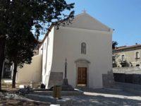 Sanza: domani cerimonia ufficiale di riapertura al culto della chiesa di San Francesco