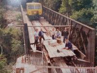 Storia della ferrovia nel Vallo di Diano. La costruzione e l'inaugurazione