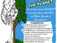 """Buonabitacolo: il 10 aprile l'iniziativa """"Plant for the Planet"""" dell'Associazione Fermento"""