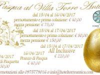 Atena Lucana: Pasqua e Pasquetta all'insegna del buon gusto al Villa Torre Antica