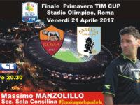 Calcio,Coppa Italia Primavera.L'arbitro di Teggiano Massimo Manzolillo designato per Roma-Entella