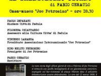 """Padula: domani alla Casa Museo Joe Petrosino presentazione del libro """"Il tredicesimo giorno"""""""
