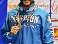 Emanuele Sarnataro di Teggiano medaglia d'argento al campionato italiano di karate