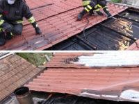 Sassano: in fiamme il sottotetto di un'abitazione. Intervengono i Vigili del Fuoco
