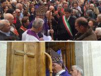 Sanza: grande partecipazione alla cerimonia di riapertura al culto della chiesa di San Francesco