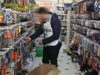 Sala Consilina: sequestrati 7mila prodotti non sicuri in un negozio. Sanzioni fino a 25mila euro