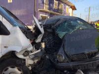 Scontro tra auto e furgone a Silla di Sassano. Feriti un ragazzo di Sala Consilina e due donne