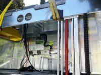 Caggiano: installata un'isola ecologica elettromeccanica per la raccolta dei rifiuti
