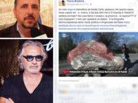 """Masso di Aquara. Flavio Briatore attacca i politici. Pino Palmieri:""""Venga a toccare con mano"""""""