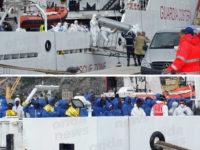 Sbarco migranti a Salerno. 400 profughi attraccati al Molo Manfredi,sulla nave anche due cadaveri