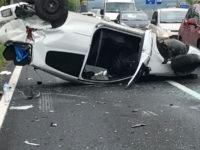 Tragico incidente stradale a Pistoia. Auto si ribalta, perde la vita carabiniere di Battipaglia