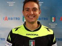 Manuel Robilotta, arbitro della sezione di Sala Consilina, assistente per Pisa-Cittadella