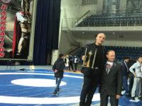 """Pietro Amendola,titolare della """"New Kodokan"""", premiato a Mosca come Miglior Tecnico di Pankration"""