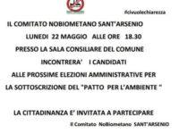 Sant'Arsenio: il Comitato No Biometano chiede ai candidati la firma del Patto per l'ambiente