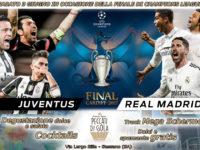 """Sassano: il 3 giugno Juventus-Real Madrid sul Truck Mega Schermo da """"Peccati di Gola"""""""