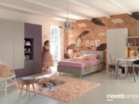 Il Centro Arredo Marotta di Polla pensa ai giovanissimi con le camerette Moretti Compact