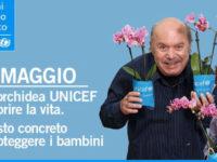 Il 6 e 7 maggio l'orchidea UNICEF a favore dei bambini nelle piazze del Vallo di Diano