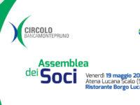 Atena Lucana: il 19 maggio Assemblea dei Soci del Circolo Banca Monte Pruno