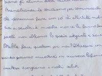Montesano sulla Marcellana: gli alunni della primaria di Arenabianca scrivono al sindaco