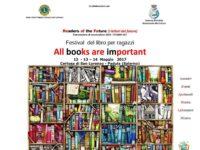 """Padula:dal 12 al 14 maggio I edizione del Festival del Libro dal titolo """"All books are important"""""""