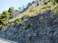Terminati i lavori di messa in sicurezza del costone roccioso a Montecorice realizzati dal Parco