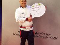 """Giuseppe Lapolla, pizzaiolo di Savoia di Lucania, 3° al """"Campionato Mondiale Pizza"""" a Parma"""