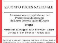 Padula: domani presentazione del Preliminare di Strategia dell'Area Interna Vallo di Diano