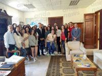 """L'Ambasciatore Italiano a Malta riceve gli studenti del Liceo Linguistico del """"Leto"""" di Teggiano"""