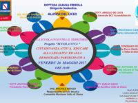 """Padula: il 26 maggio al Liceo """"Pisacane"""" l'evento """"La scuola incontra il territorio"""""""