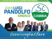 """Elezioni a Sant'Arsenio. Domani la presentazione della lista """"Sì Cambia"""""""