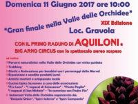 """Sassano: l'11 giugno natura e divertimento per il """"Gran finale nella Valle delle Orchidee"""""""