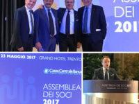 Assemblea dei Soci di Cassa Centrale Banca a Trento. Il 2016 si chiude con un ottimo bilancio