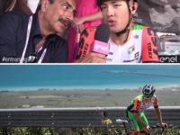 E' originario di Laviano il ciclista più giovane del Giro d'Italia 2017