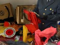 Lotta alla contraffazione in provincia di Salerno. La Guardia di Finanza sequestra 26.000 pezzi