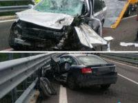 """Tragico incidente sulla """"Potenza-Melfi"""". Due morti e un ferito grave"""
