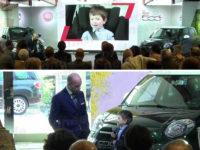 Il piccolo Luca Morello, originario di Teggiano, protagonista del nuovo spot della Fiat 500L