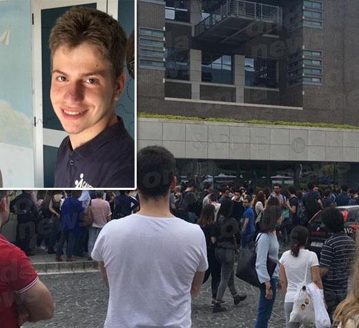 Tragedia all'Università di Salerno. Campagna sotto shock per la morte di Gianluca Cavalieri