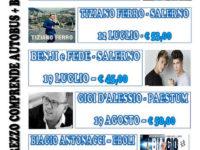 """""""Speranza Viaggi"""" di Caselle in Pittari presenta il nuovo calendario dei concerti"""